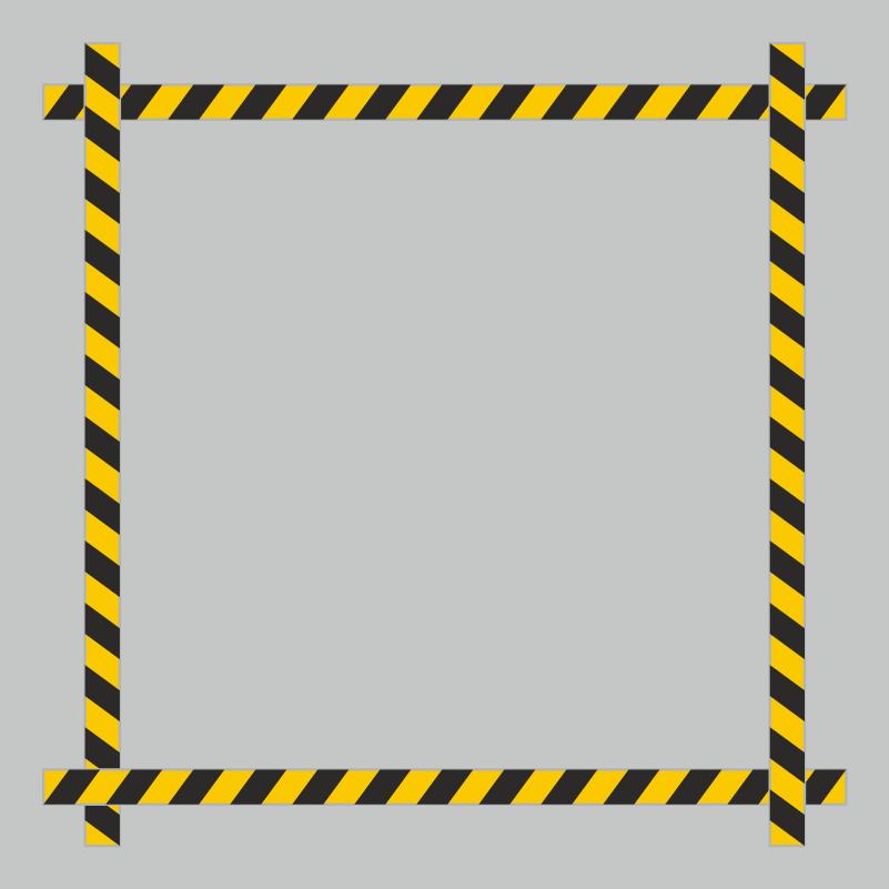 Vloerlijn-stickers